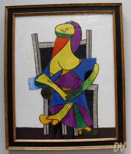 Donna seduta - Pablo Picasso