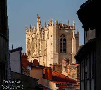 Veduta della Cattedrale dalla Vieux Lyon