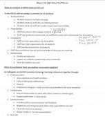 Mason City High School Staff Norms