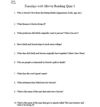 TWM Quiz 1