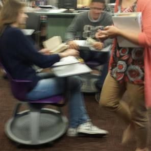 I'm having just as much fun as the kids--a great activity for student-teacher collaboration!