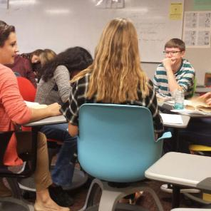 I was able to join in on the discussion and give information, feedback, comments, and pose questions.