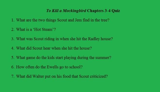 TKAM quiz 3-4