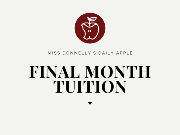 final month tuition
