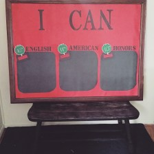 'I Can' Standards Bulletin Board