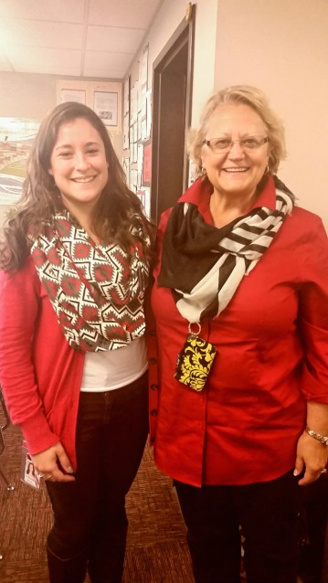 Me and my first placement (Mason City High School) cooperating teacher, Deadra Stanton. A wonderful woman and wonderful experience!