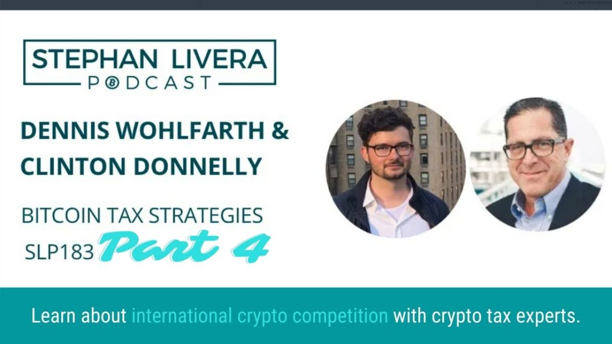 International Crypto Tax Competition – Stephan Livera Podcast: Part Four