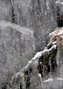 Icicle series, Fort Mountain StPk cliffs 001
