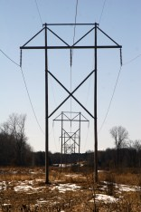 Power lines in north metro