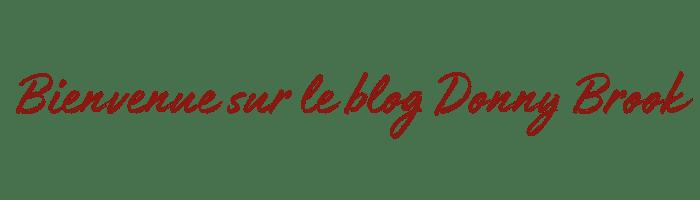 Bienvenue sur le blog Donny Brook