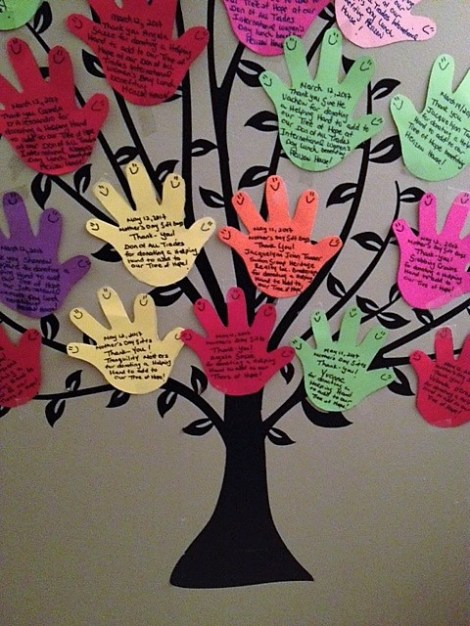 Every donation received through our Helping Hands Building Trees of Hope Program benefiting Herizon House Women's Shelter, adds a new Helping Hand to our Tree of Hope which we wish to complete by December 2017!