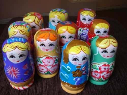 Matrioska Comprar Matrioskas, Bonecas Artesanais de Porcelana