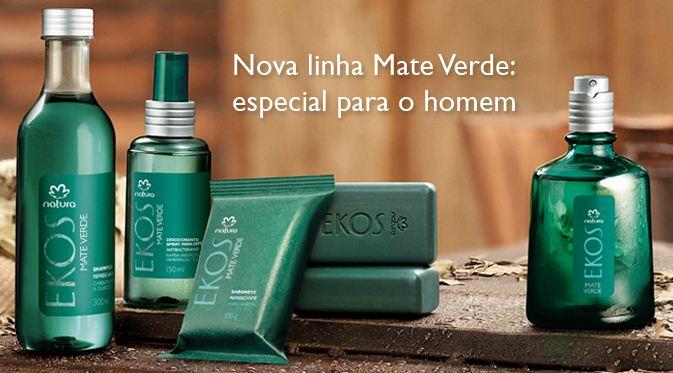 natura ekos lnha mate verde Natura Ekos, Nova Linha Mate Verde Masculino
