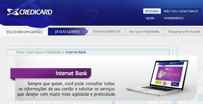 Credicard Internet Banking Credicard Internet Banking