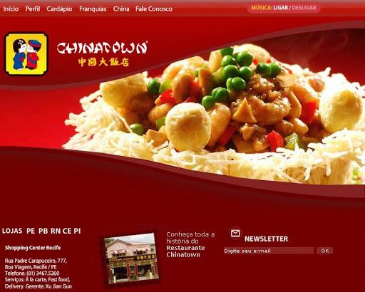 CHINATOWN1 Restaurante Chinês em Jaboatão dos Guararapes, Endereço e Telefone