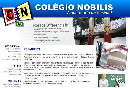 COLEGIO 252520NOBILIS Escolas Particulares em Santo André, Endereço e Telefone