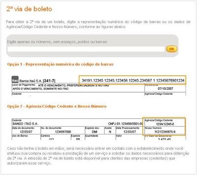 ITA 2525C3 25259A Como Tirar 2º Via de Boletos no Banco Itaú e Unibanco Online