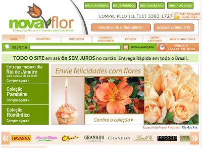 Nova 252520Flor Nova Flor, Floricultura Online, Envio de Flores