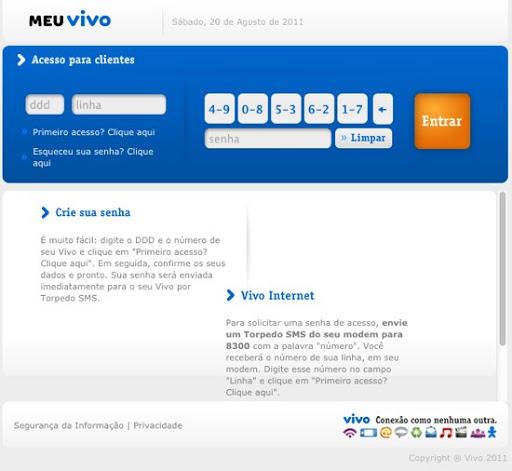 VIVO Como Cadastrar Meu Celular Vivo Pela Internet