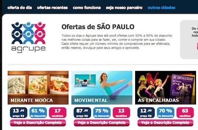 agrupe compra coletiva Agrupe, Ofertas de SÃO PAULO em Compra Coletiva