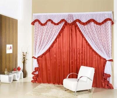 cortina romantica G Cortinas Românticas, Modelos e Como Usar