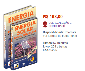 curso 20energia 20solar1 Curso Energia Solar para o Meio Rural, Programa e Preço - DVD