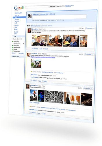 interstitial page1 Novo! Google Buzz no Gmail