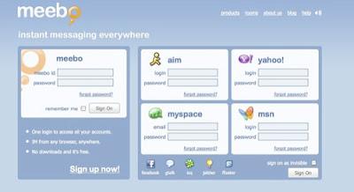 meebo11 Meebo, Aplicativo para iPhone e mensagens instantâneas ilimitadas