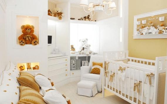 Decoração de Urso Para Quarto de Bebê