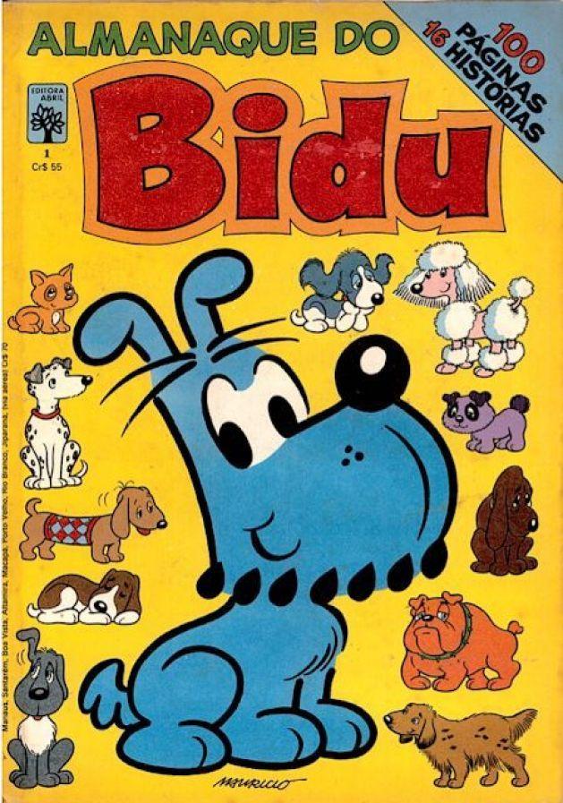 Bibu, o primeiro personagem da Turma da Mônica no século passado, 1969.