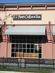 good customer service at Peet's Coffee