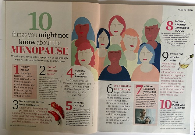 Ten Things you might not know about the menopause (from The Smart Woman's Guide to the Menopause)