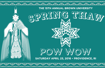 15th Annual Brown University Spring Thaw Powwow - Tshirt Design