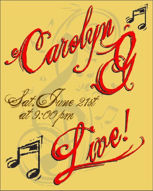 Donovan's Presents: Carloyn G Live!
