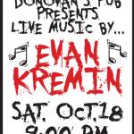 Live Music by Evan Kremin
