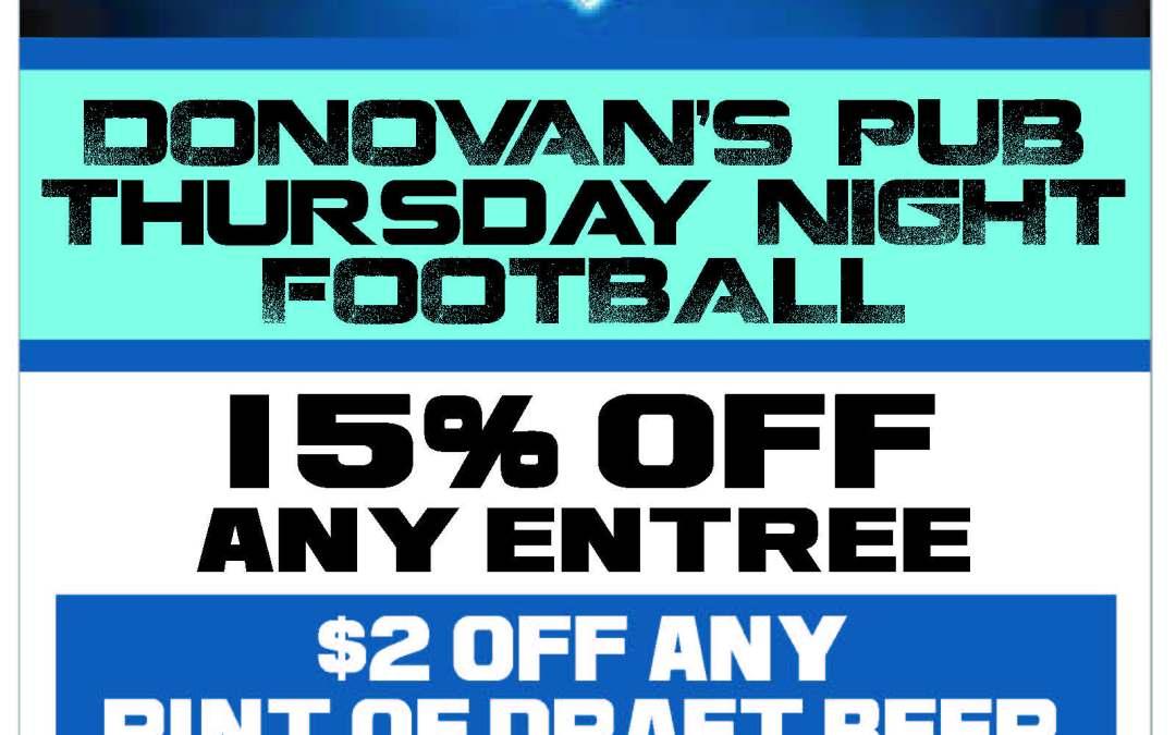 Thursday Night Football!