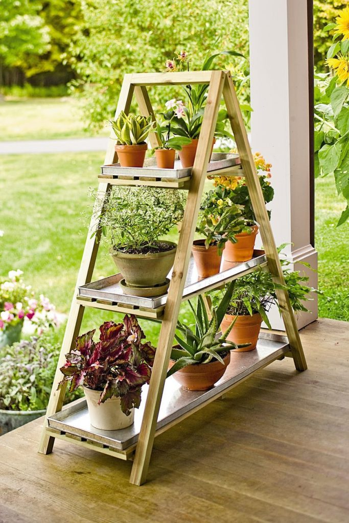 36+ DIY Plant Stand Ideas for Indoor and Outdoor Decoration on Plant Stand Ideas  id=15844