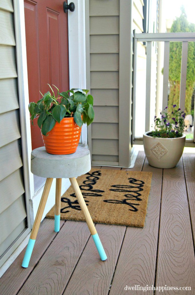 36+ DIY Plant Stand Ideas for Indoor and Outdoor Decoration on Plant Stand Ideas  id=81796