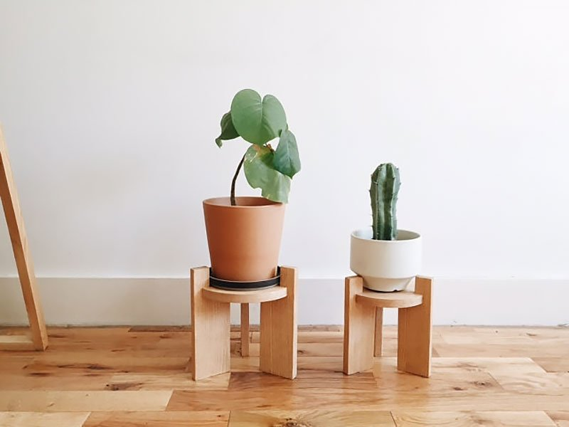 36+ DIY Plant Stand Ideas for Indoor and Outdoor Decoration on Plant Stand Ideas  id=28004