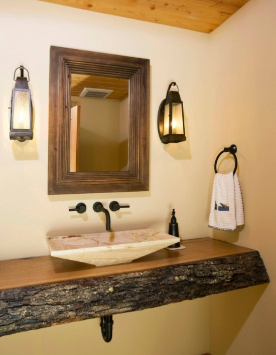 30 Rustic Countertops That Will Make Your Home Cozier And