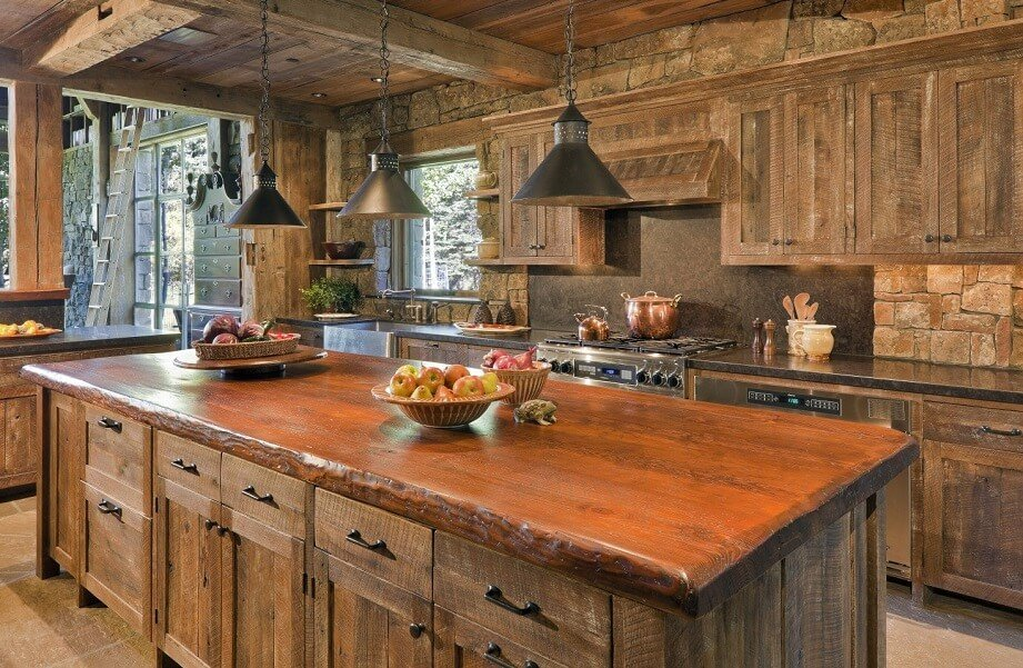 31 Best Reclaimed Barn Wood Kitchen Islands