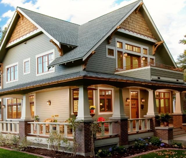Craftsman Style House Ideas With Bedroom And Kitchen