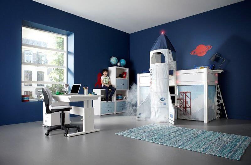 50 space themed bedroom ideas for kids