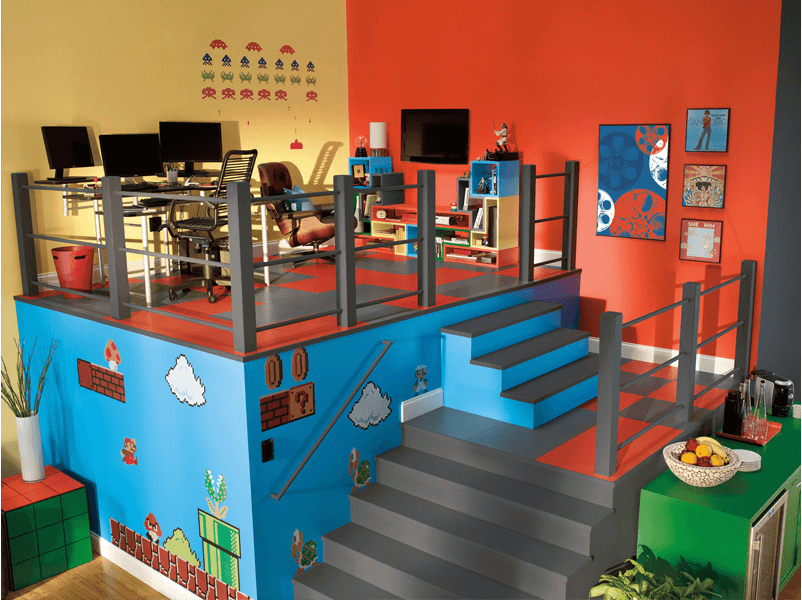 Build a room addition in any number of ways to your existing structure. 50+ Best Setup of Video Game Room Ideas A Gamer's Guide