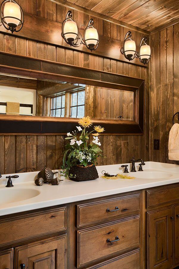 30 rustic bathroom vanity ideas that are on another level on rustic bathroom designs photos id=11710