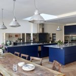 24 Blue Kitchen Cabinet Ideas To Breathe Life Into Your Kitchen