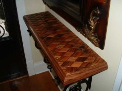 Rosewood Woven table 1