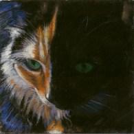 Lily by Western pastel landscape artist Don Rantz