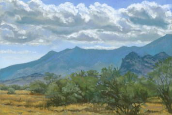 Catalina State Park by Western pastel landscape artist Don Rantz