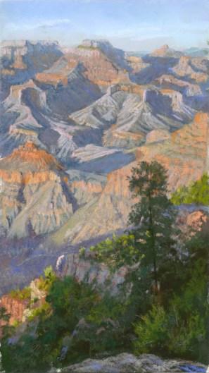 Grand Canyon 4 by Western pastel landscape artist Don Rantz